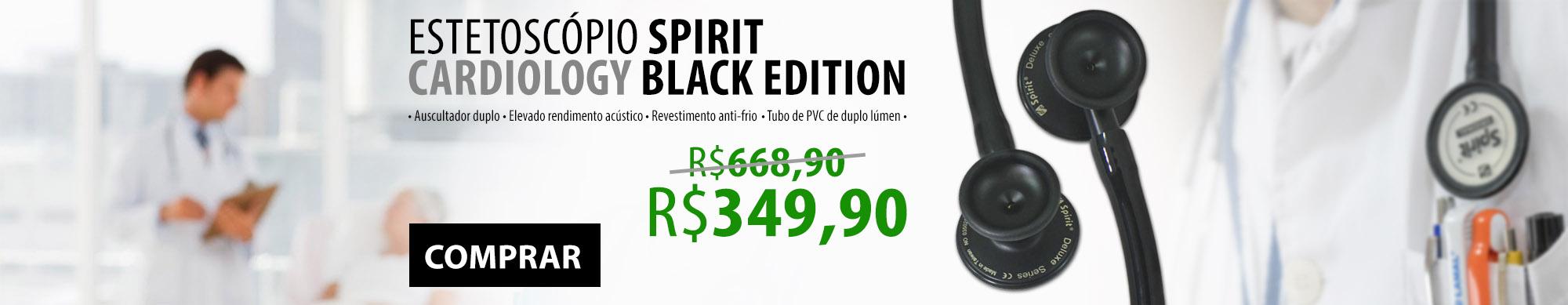 Spirit Cardiology Black