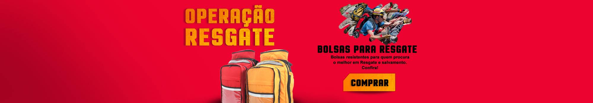 Banner Home - Bolsas para resgate