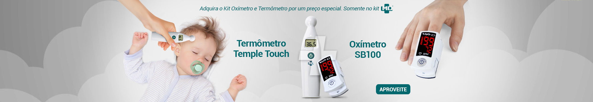 Banner Home Termômetro Temple Touch