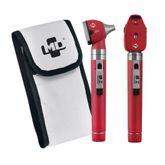Kit-Otoscopio-e-Oftalmoscopio-MD-Omni-3000-LED-Vermelho-com-Estojo-Macio