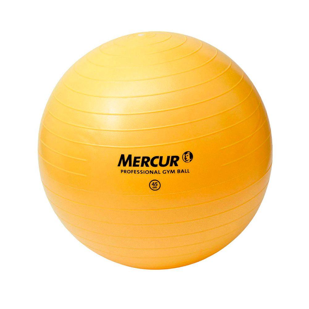 Bola Gym Ball 45cm p  Ginástica Pilates Yoga Mercur - Fibra Cirúrgica ... 4a6f84fd496f2