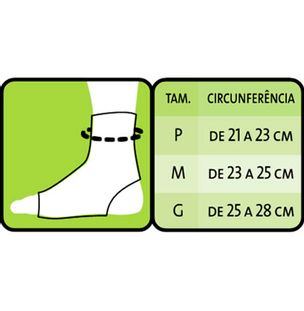a524e7b7b Tornozeleira Esporte Mercur - Fibra Cirúrgica - FibraCirurgica