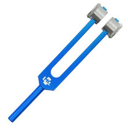 Diapasao-Medico-256-CPS-com-Fixador-Azul