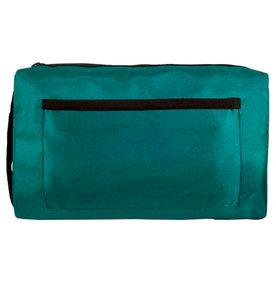 Estojo-Nylon-Luxo-com-Ziper-Verde