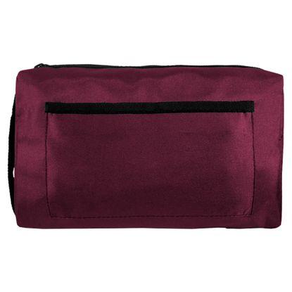 Estojo-Nylon-Luxo-com-Ziper-Bordo