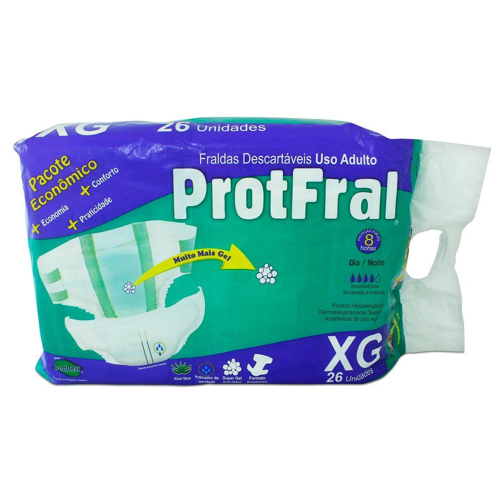 f82e3ff500dbd Fralda Descartável Protfral XG com 26 un - FibraCirurgica