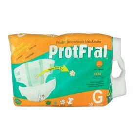 Fralda-Descartavel-Protfral-G-com-30-un