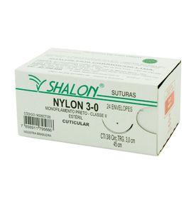 Fio-para-Sutura-Shalon-Nylon-3-0-Com-Agulha-Triangular-de-30cm-e-38