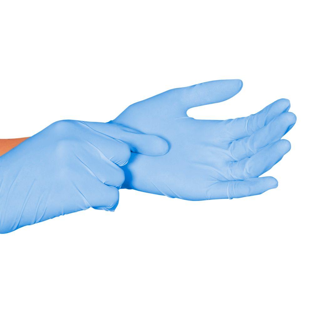 Luva Procedimento Nitrílica Nugard Azul não Estéril Sem Pó 100un -  FibraCirurgica a7ee11fb3c