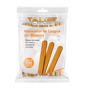 Abaixador-de-lingua-Talge-com-100-unidades