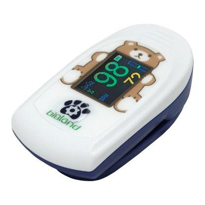 Oximetro-Infantil-de-Pulso-Portatil-Bioland-Monitor-de-Dedo