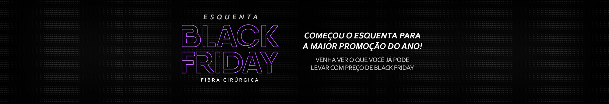 Banner Principal Black Friday 2017