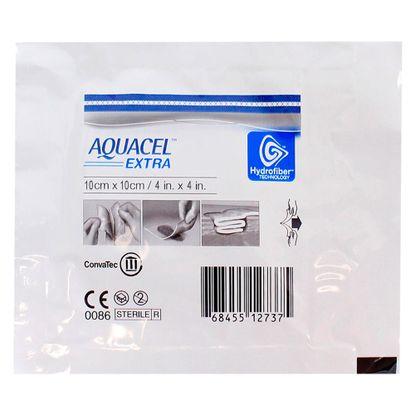 Curativo-de-Hidrofibra-Aquace-EXTRA-Convatec-Esteril-10cm-x-10cm