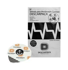Eletrodo-Descarpack-Adulto-Descartavel-Espuma-Pacote-50un