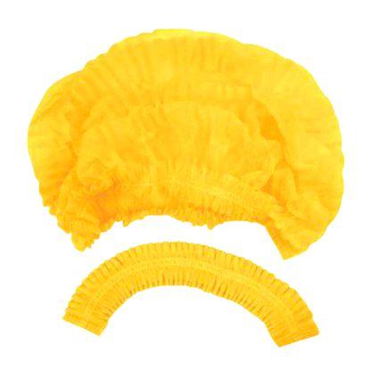 Touca-Descartavel-Amarela-com-Elastico-Protdesc2