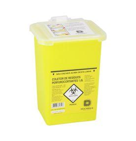 Coletor-de-Residuos-Perfurocortantes-Descarpack-Rigido-01-Litro-Amarelo