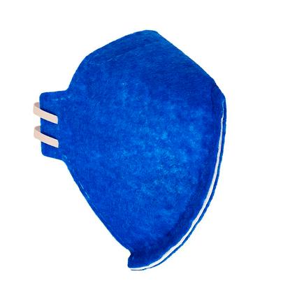 Mascara-Respirador-Nutriex-Descartavel-Dobravel-sem-Valvula-PFF2-N95-Azul-1un.