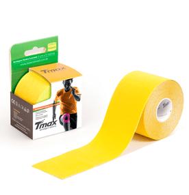 Bandagem-Elastica-Tmax-Kinesio-5cm-x-5m-Amarelo