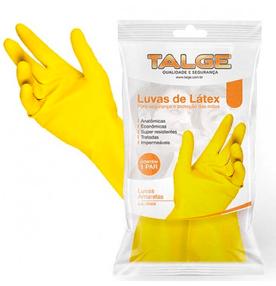 Luva-de-Latex-Talge-para-Limpeza-Amarela