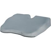 Almofada-Funcional-Perfetto-3D-com-Recorte-Central-Removivel-para-Assento-Cinza