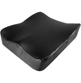 Almofada-Ortopur-Perfetto-com-Base-Antiderrapante-para-Assento-Preto
