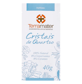 Cristais-de-Quartzo-Terramater-Esfoliante-Organico-40g