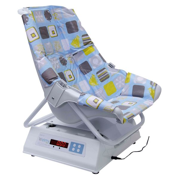 Balança Digital Welmy Confort para Bebê com Cadeira 30Kg