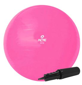 Bola-Gym-Ball-ACTE-65cm-Rosa