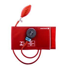 Aparelho-de-Pressao-BIC-Adulto-Nylon-Velcro-Vermelho