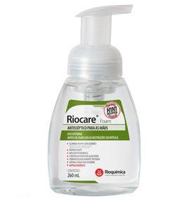 Antisseptico-para-Maos-Riocare-Foam-Rioquimica-Espuma-260ml