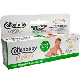 Creme-Preventivo-de-Assaduras-Cottonbaby-Premium-Cuidado-da-Pele-45g