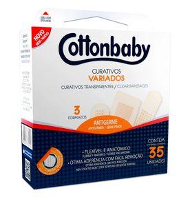 Curativo-Cottonbaby-Transparente-Variados-com-35un.