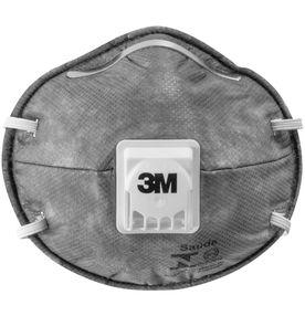 Mascara-Respirador-3M-Descartavel-Concha-com-Valvula-PFF1-8013-Cinza-1un.