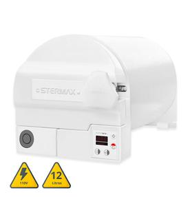 Autoclave-Stermax-ECO-Extra-Horizontal-Camara-em-Inox-12L-110V