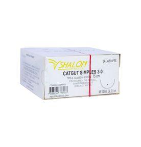 CatGut-Simples-3-0-Com-Agulha-Cilindrica-de-35cm-e-1-2-Circulo-Shalon